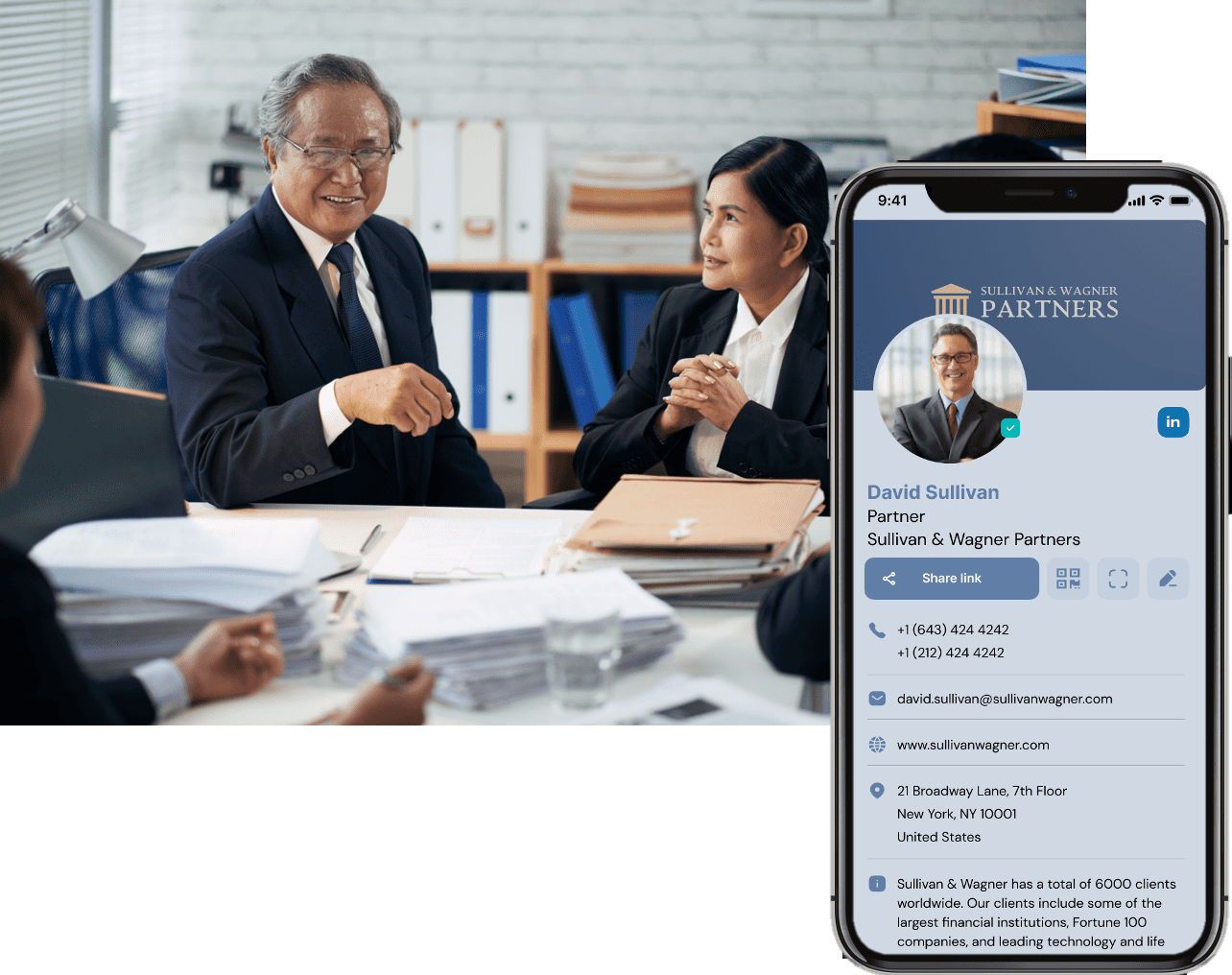 digital business cards to expand legal networking capabilities